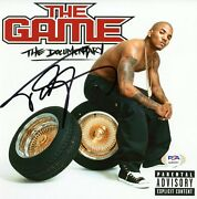 The Game Signed Autographed 8x8 Photo The Documentary Psa/dna Authenticated