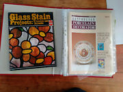 Folder Full Of Misc Stained Glass Projects/porcelain Decorating Patterns/mags