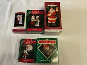 Hallmark Ornaments Lot Of 5 1987, 2-1992, 1994 And 1999