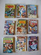 154 The Fantastic Four / Silver Surfer Comic Lot Bronze Age To Modern