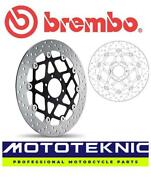 Brembo Upgrade Front Brake Disc To Fit Benelli Tnt Cafeand039 Racer 2005 - 2007