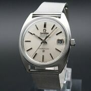 Omega Constellation C-line Cal.564 Vintage Date Automatic Mens Watch Antique F/s