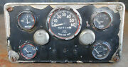 M38 Willys Jeep Instrument Cluster/gauges Ac 1582076 Rare Complete