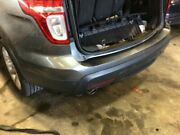 2011-2014 Ford Explorer Rear Bumper Cover W/o Trailer Tow Package W/park Assist