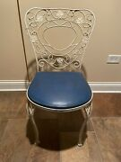 Vintage Old Comiskey Park Chicago White Sox Patio Lf Picnic Area Iron Chair Seat