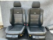 ✔mercedes W212 W218 E63 Cls63 Front Sport Amg Seat Cushion Leather Suede Oem