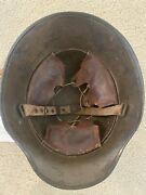 Wwi Austro-hungarian M17 Steel Helmet W Full Liner And Chinstrap