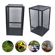 Clear Reptile Tank Insect Spiders Lizard Breeding Box Cage Pet Terrarium House