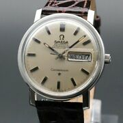 Omega Constellation Cal.751 Vintage 1969 Day Date Automatic Mens Antique Watch