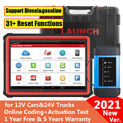 Launch X431 Pro3s + Hdiii 12v Carsand24v Truck Bidirectional Diagnostic Scan Tool