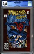Spiderman 2099 1 Cgc 9.8 1st Actual Appearance Miguel Oand039hara 3803856001
