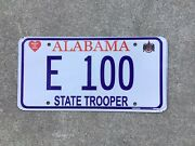 Alabama - State Trooper - Prototype - License Plate - Police