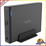 Orico 7688c3 3.5 Inch Type-c Usb3.1 External Case Hdd Ssd Hard Drive Disk Os