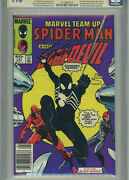Marvel Team Up 141 1984 Cgc 9.6 1st Black Costume Signed By Jim Shooter