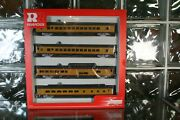 Ho R6995 Rivarossi Union Pacific Up Passenger Car Set A - New Old Stock