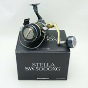 Secondhand Shimano 13 Stella Sw5000xg Spinning Reel Box With Bag