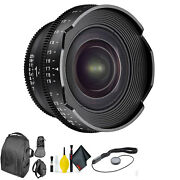 Rokinon Xeen 14mm T3.1 For Canon + Deluxe Lens Cleaning Kit