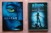 Avatar With Slipcover And The Abyss Special Edition Dvd James Cameron Excellent