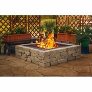 10 H X 41.5 W Steel Wood Burning Outdoor Fire Ring