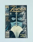 New In Wrap Zorro Silencing Of The Sword 1991 Marvel Comic Book Vol.1 Issue 12