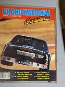 1989 Nascar Grand National Illustrated Magazines Winston Cup Dale Earnhardt
