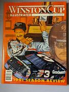 1992 Nascar Winston Cup Illustrated Magazines Dale Earnhardt Chevrolet Champion