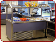68 Speed Line Hot And Cold Food Service Station Buffet Cart Ga Systems Hc68 6582