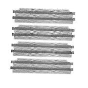 Stainless Steel Grill Heat Plates Heat Shield Burner Covers Replacement Bbq