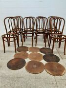 10andnbsp Original Antique Thonet Bentwood Chairs And 9 Seats To Be Restored