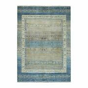 6and0398x9and03910 Kashkuli Gabbeh Pure Wool Hand Knotted Oriental Rug G51658