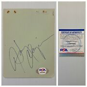 Singer Songwriter Harry Chapin Signed Autograph Album Page - Psa Dna - Free Sandh