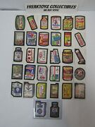 1974 Wacky Packages Series 6 32 Card Set Truant And Run A Way Included