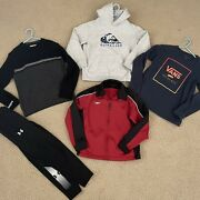 Boys Winter Clothes Lot Size 8-10 Small , Quiksilver, Under Armour, Speedo
