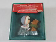 Vintage Hallmark 1986 Frosty Friends 7th In The Series Christmas Tree Ornament