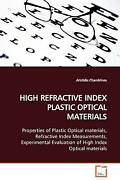 High Refractive Index Plastic Optical Materials Paperback By Chandrinos Ari...