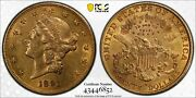 20 Liberty Gold Double Eagle Pcgs Genuine Au Details Cleaned Nice Ebux