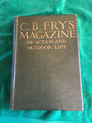 Vintage Book C.b.fry's Magazine Of Action And Outdoor Life Volume 2