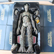 1/6 16.53 Treeman Figure Masterpiece Guardians Of The Galaxy Pvc Groot With Box