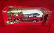 Monkees Mobile Auto World Die Cast Model Car 1/18 Scale New In Original Box