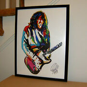 John Frusciante Red Hot Chili Peppers Guitar Music Poster Print Wall Art 18x24
