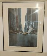 Joseph Correale Radio City Canyon Print Signed And Numbered In Pencil