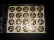 Rare Us Army Eagle Pins Date 1-9-1970 20 Count Mint
