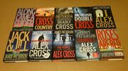 Lot 10 James Patterson Alex Cross Hc Books Along Came A Spider, Roses Are Red ++