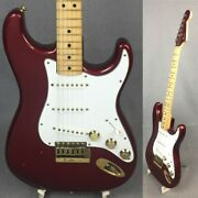 Fender The Strat Candy Apple Red 1980 Stratocaster Type Electric Guitar G1621
