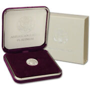 10 Platinum Eagle 1/10 Ounce With Us Mint Gift Box .999 Mixed Date Bu