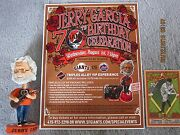 Jerry Garcia Gratful Dead Sf Giant 70th B'day Bobbleheads Reg And Talking +xtras