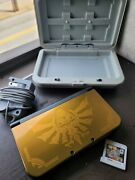 Nintendo New 3ds Xl Zedla Edition With Six Games