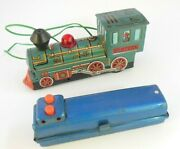 Vintage Marx Tin Western Train Engine Battery Operated Parts/repair