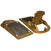 Groco Perforated Hull Strainer W/access Door 2 Max Thru-hull