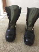 Vietnam Jungle Boots With Panama Sole Size 9n Addison 1968